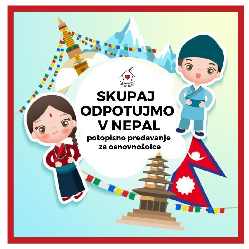 Skupaj odpotujmo v Nepal (potopisno predavanje za osnovnošolce)