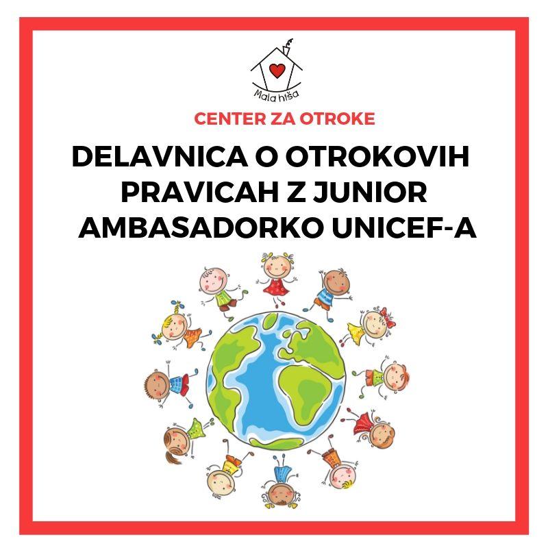 Delavnica o otrokovih pravicah v izvedbi lokalne Junior ambasadorke UNICEF-a