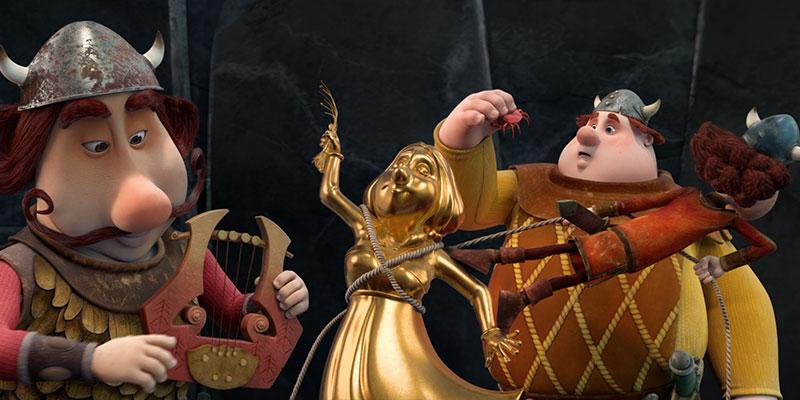 Kino krompir: Viking Viki in čarobni meč (sinhronizirana risanka)