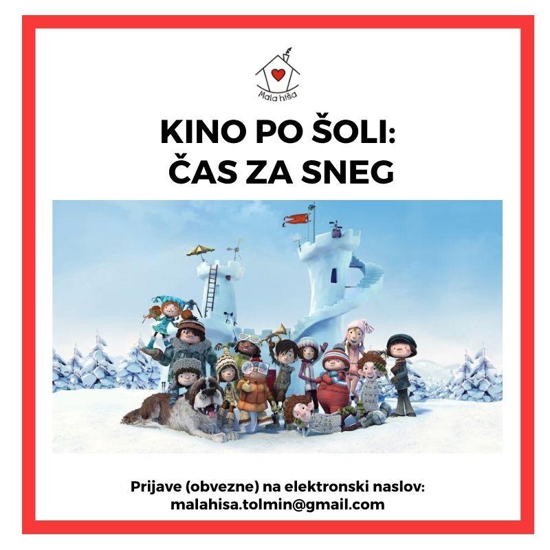 Kino po šoli: Čas za sneg