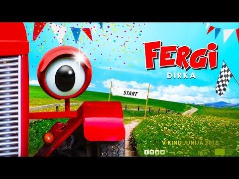 Kino pod brezami: FERGI - DIRKA (mladinski igrani film, 4+)
