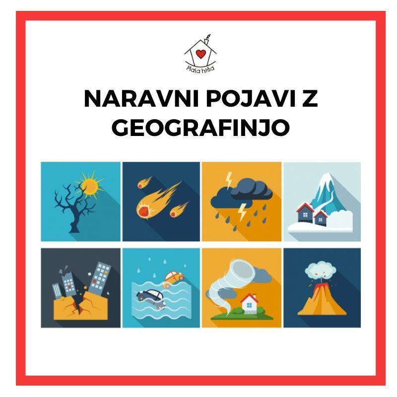 Naravni pojavi z geografinjo (delavnica za osnovnošolce)