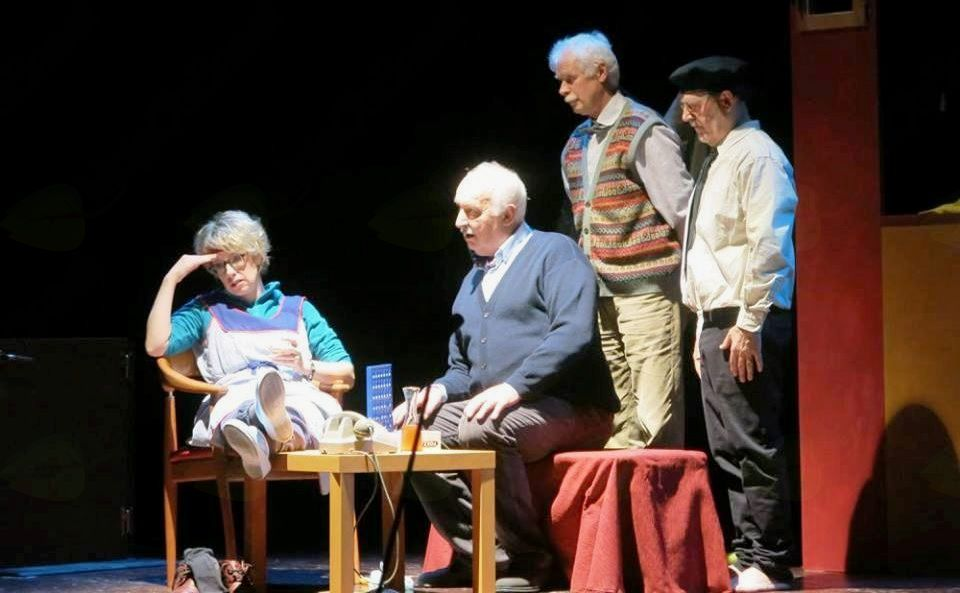 NAŠ ODER: TRIJE NA PINGULAVKI (predstava Beneškega gledališča)