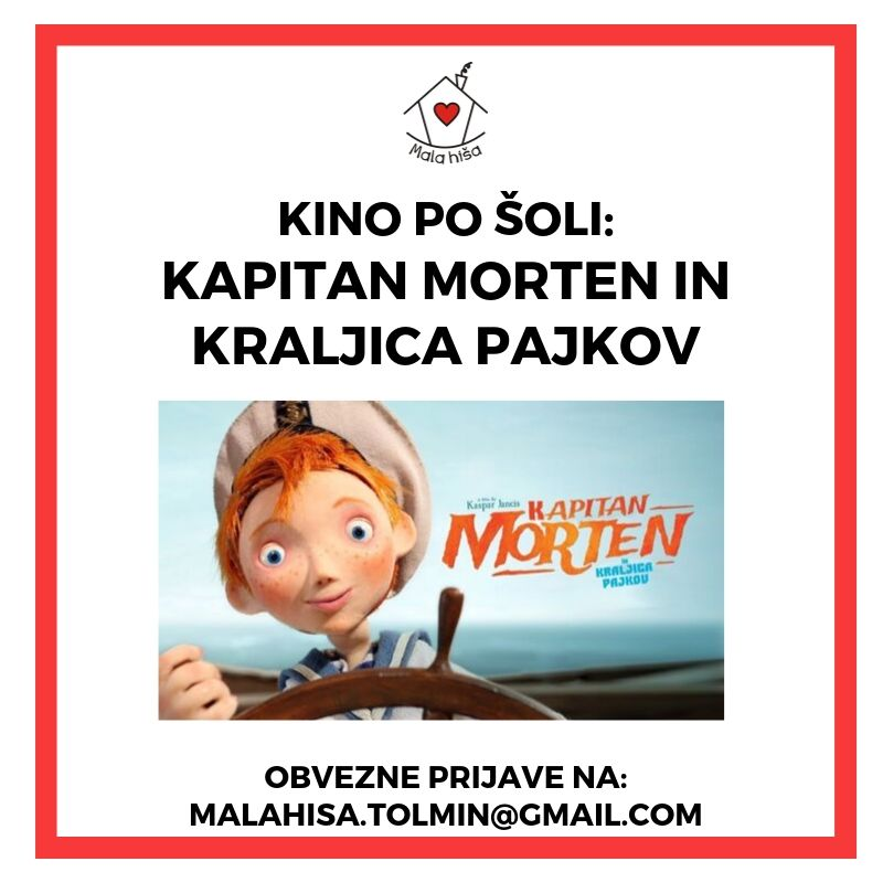 Kino po šoli: Kapitan Morten in kraljica pajkov