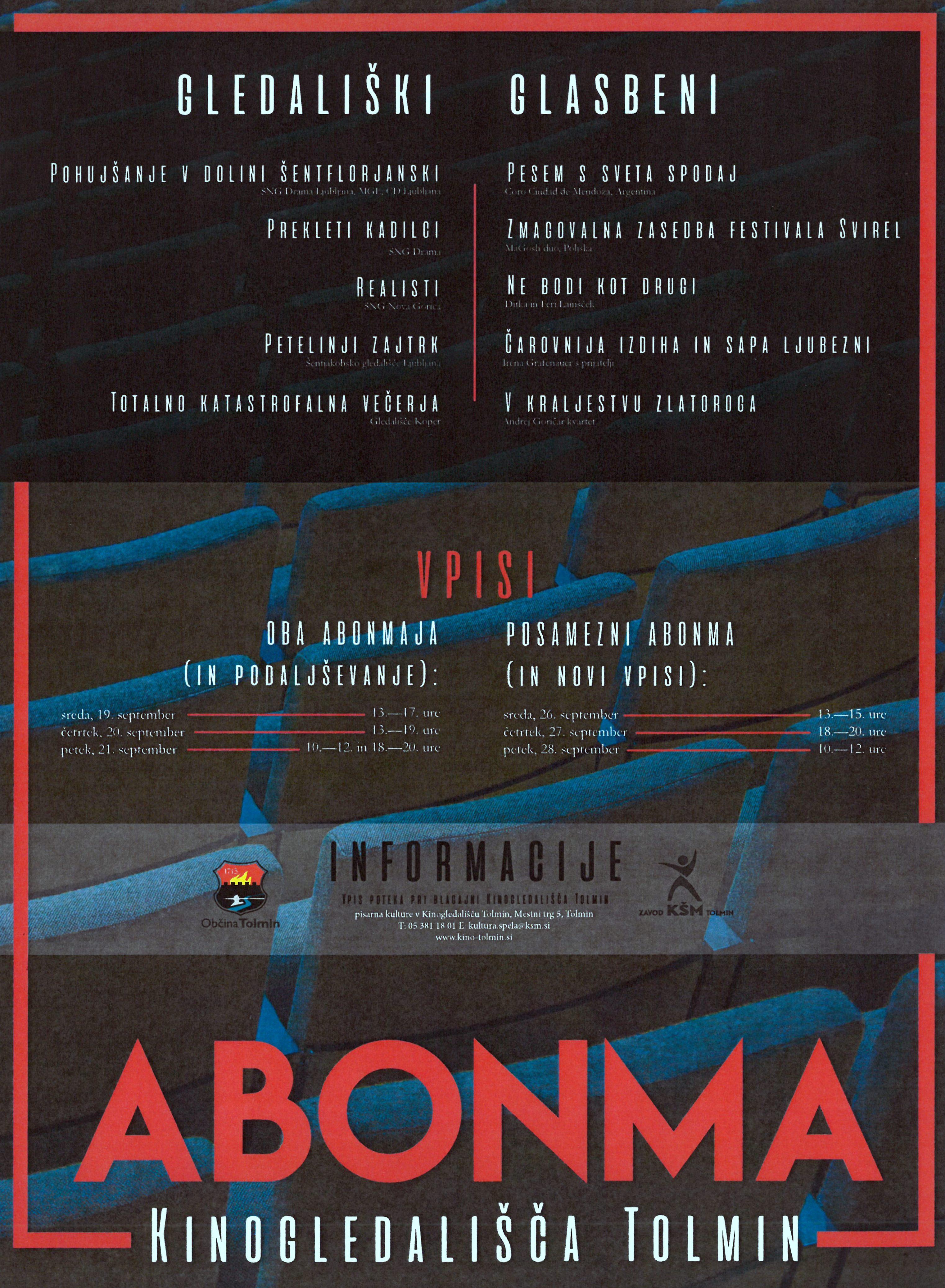 VPIS V ABONMA 2018/19